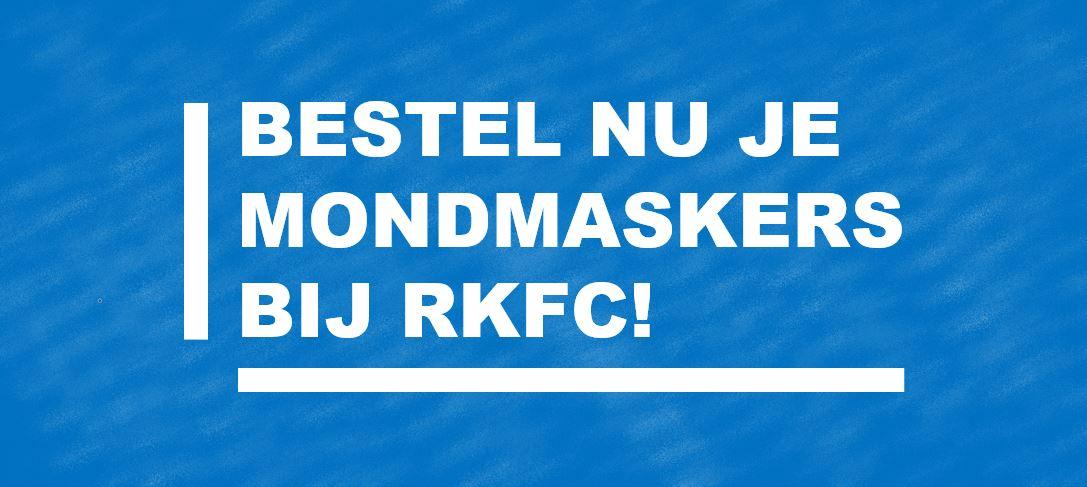 Bestel nu je mondmaskers bij RKFC!