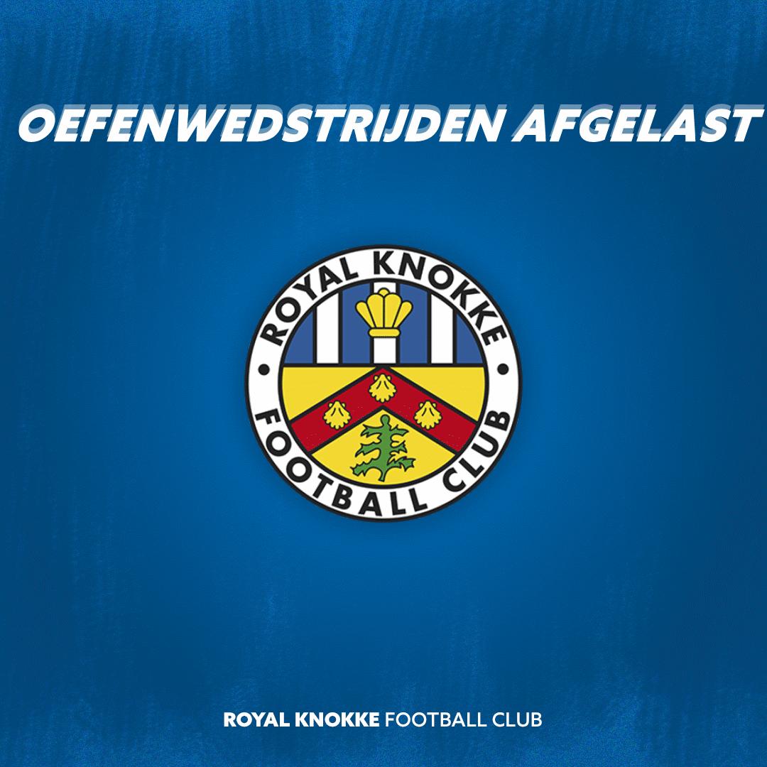 UPDATE: Extra oefenwedstrijd tegen Waasland-Beveren, andere oefenwedstrijden afgelast tot 25/08.