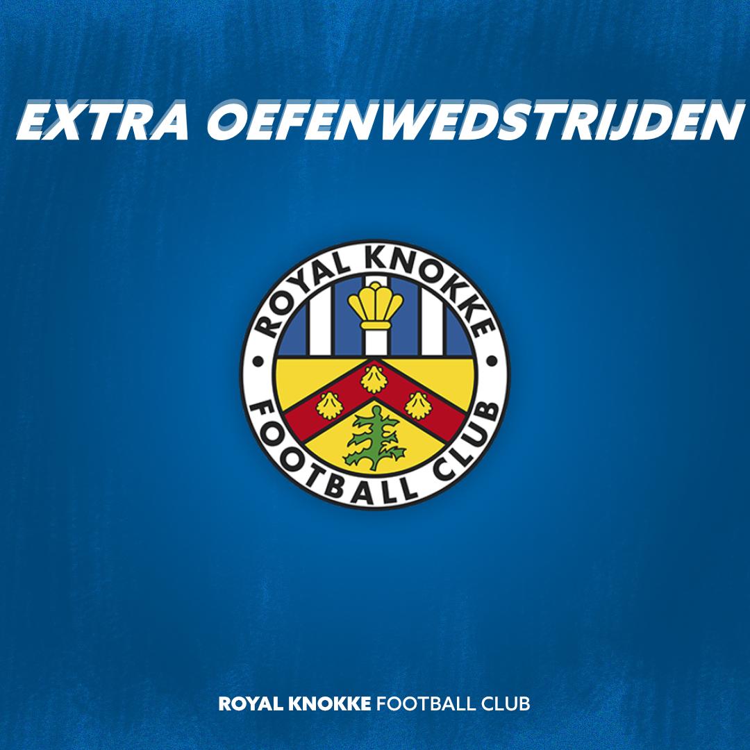 Extra oefenwedstrijden tegen Westerlo en Hoek!