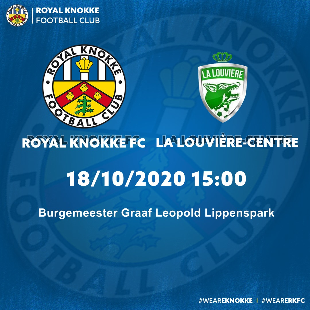 Bestel nu je tickets voor RKFC – La Louvière.