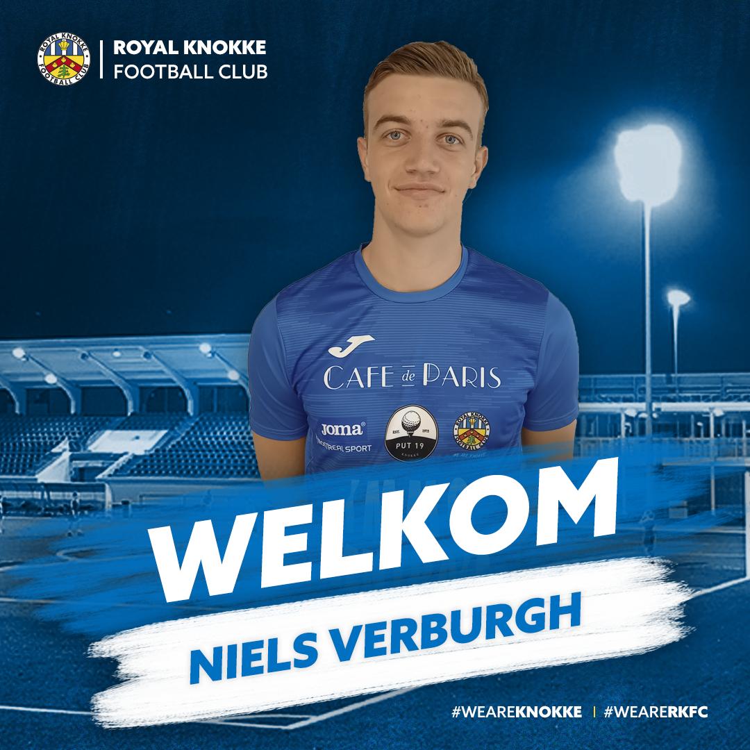 Niels Verburgh versterkt RKFC!