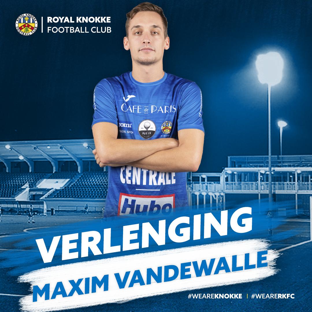 Maxim Vandewalle verlengt bij RKFC!