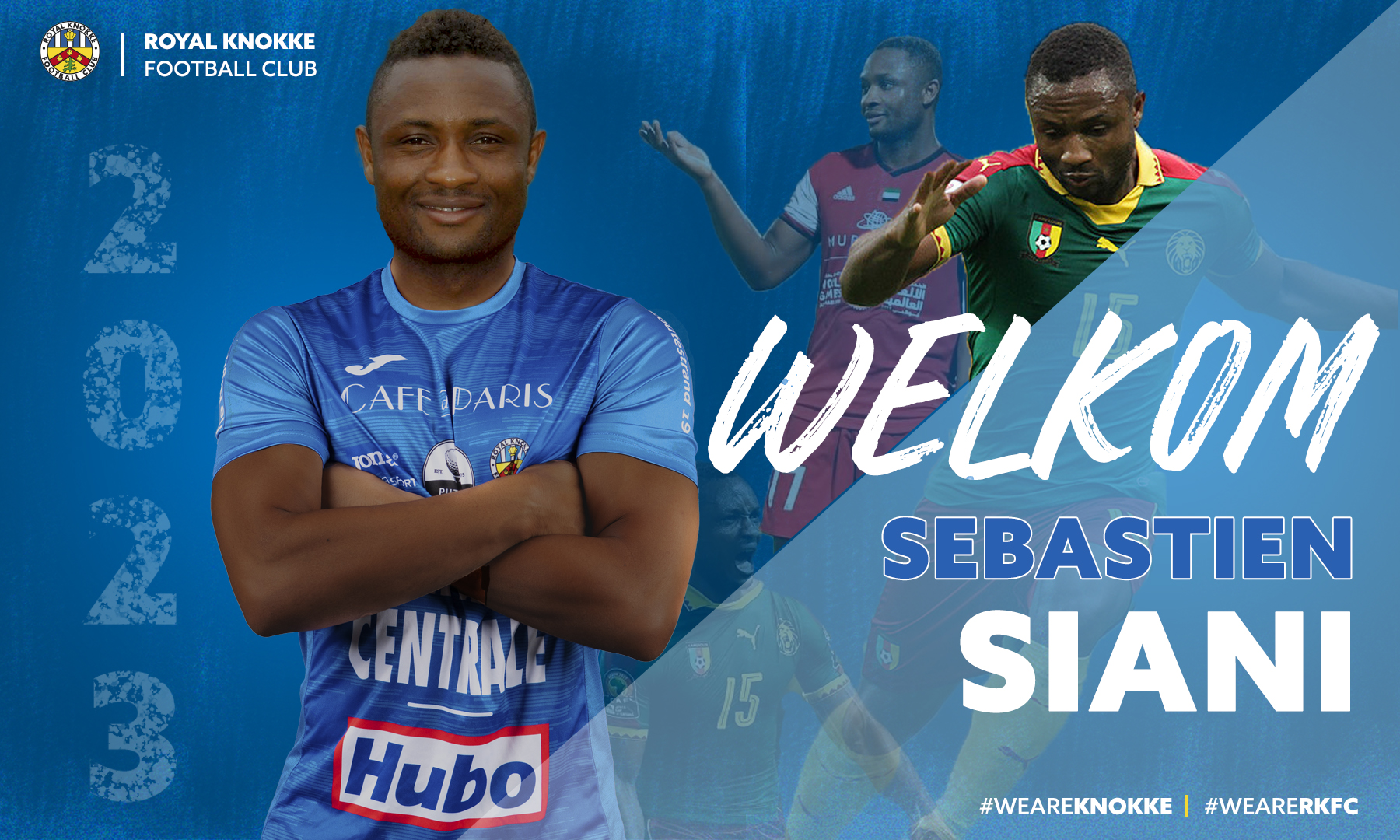 Welkom Sebastien Siani!