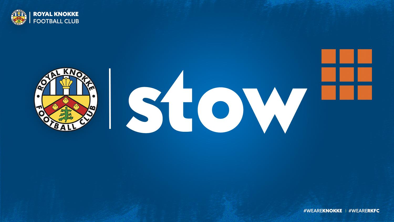 Stow wordt nieuwe shirtsponsor!